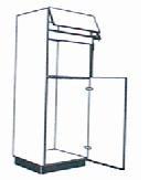 hoge houten keukenkast voor magnetron  landelijke en moderne, Meubels Ideeën