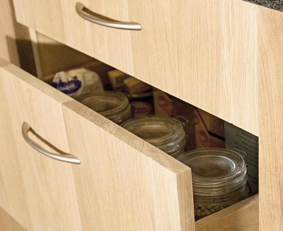 Keuken onderkasten met lades houtenkeukenopmaat landelijke