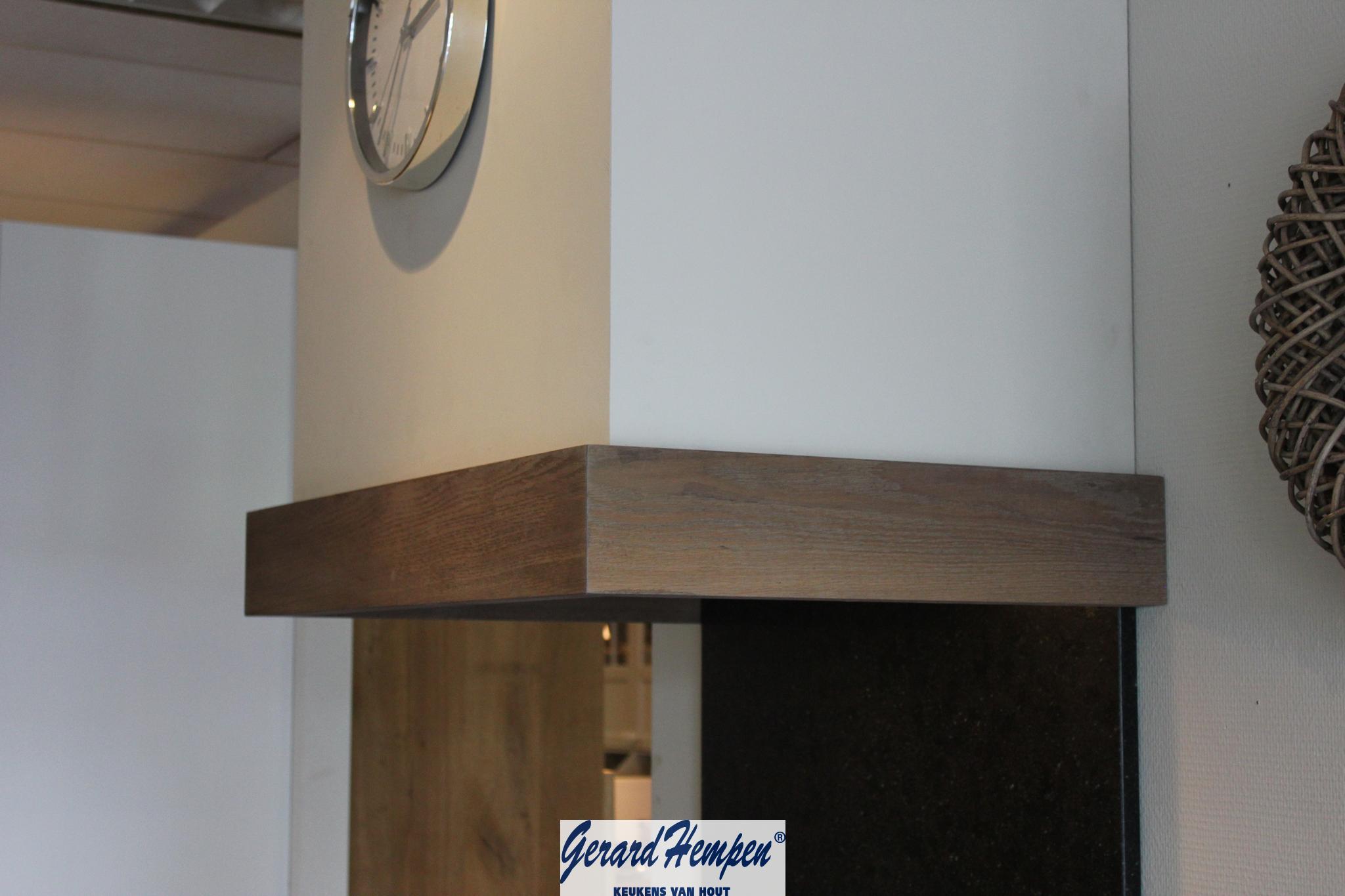 Houten schouw houten keuken op maat   landelijke en moderne houten ...