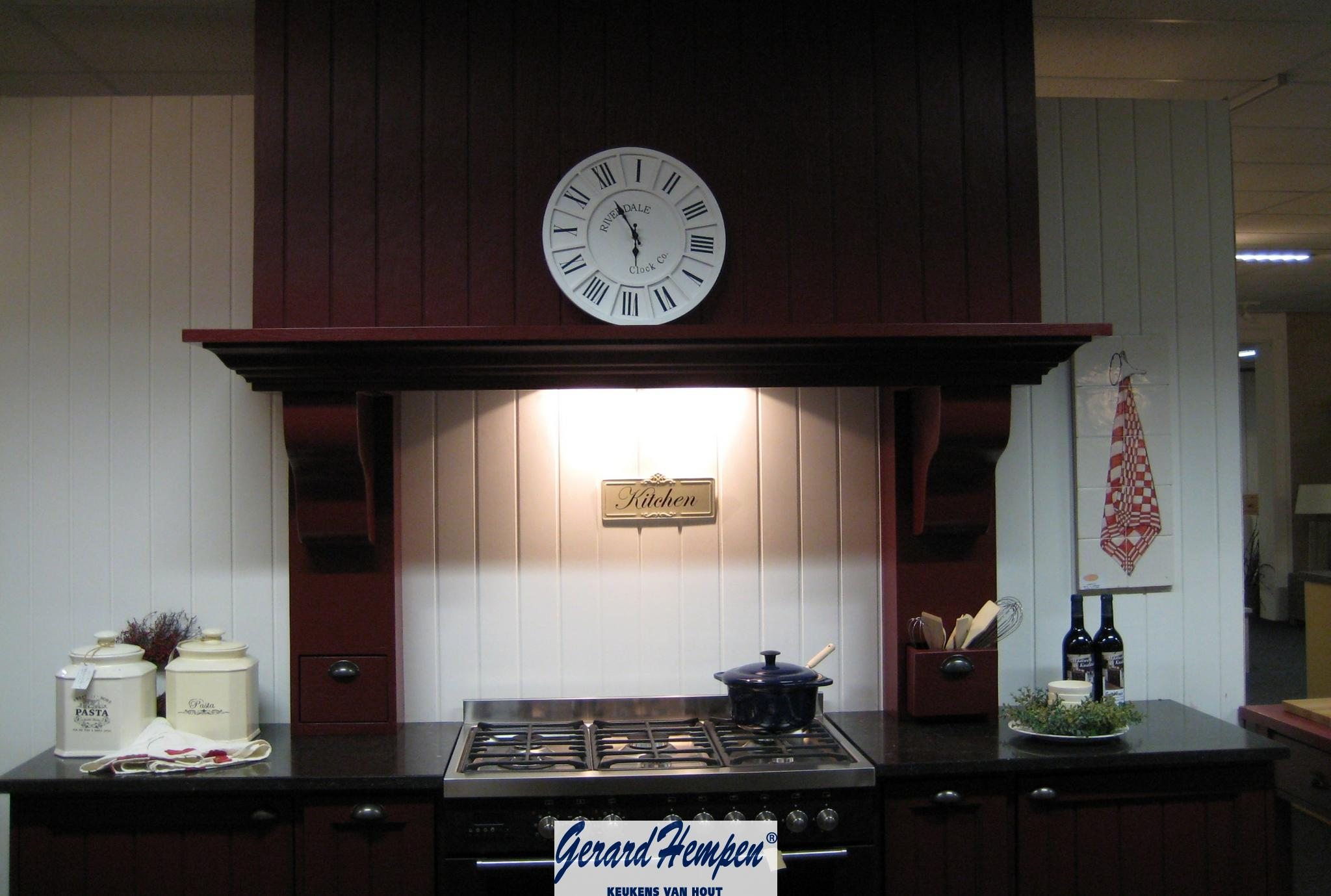 Keuken Met Schouw : Schouw Houten Keuken op Maat – Landelijke en moderne houten keukens